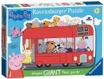 Ravensburger - PEPPA PIG GIANT FLOOR JIGSAW PUZZLE - 24 Pieces NEW